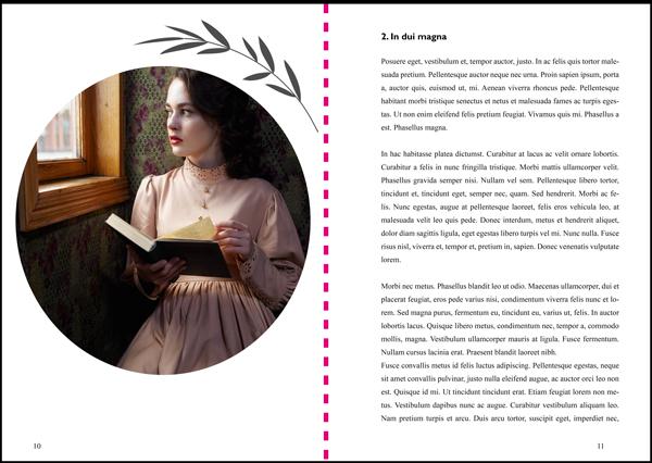 design book Madina's Circle