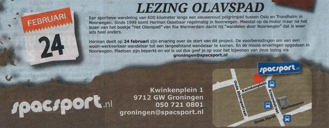 HERMAN OSSEBAAR | Lezing over wandelen in Noorwegen