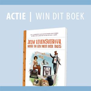 ACTIE | win boek over levensverhalen schrijven