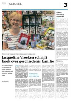 Jacqueline Vreeken | Dichterbij dan verwacht
