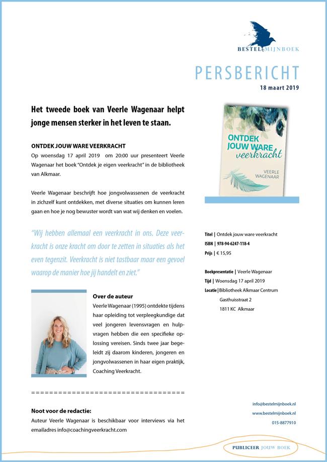 VEERLE WAGENAAR | Ontdek jouw ware veerkracht