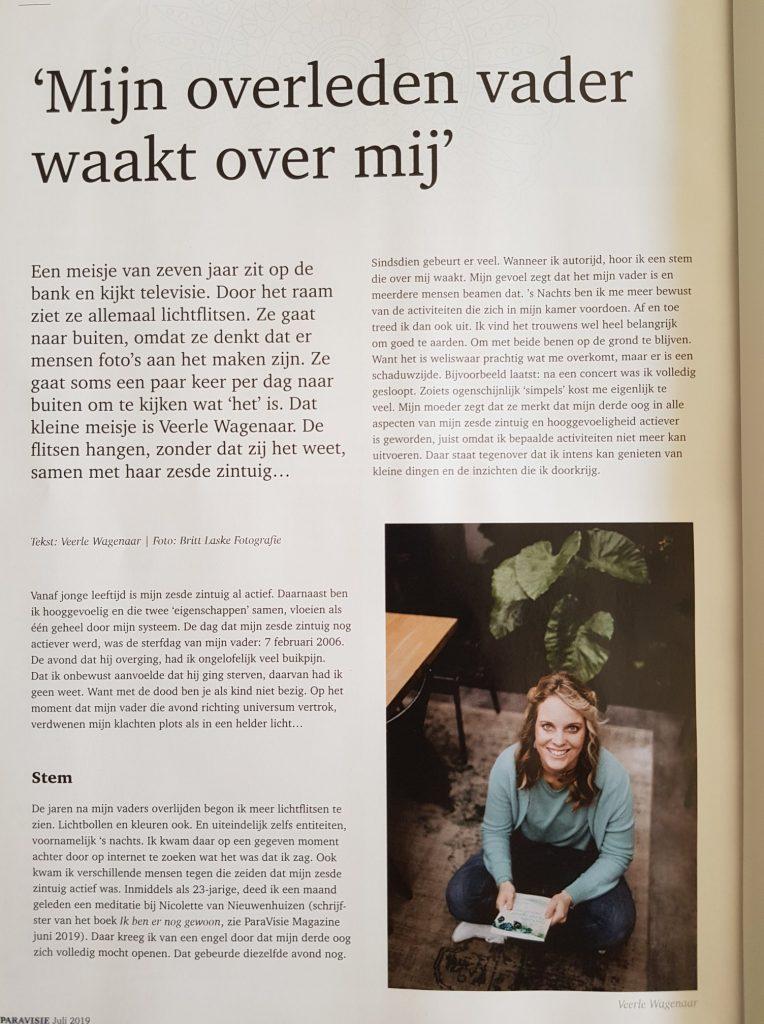 IN DE KRANT | Veerle Wagenaar