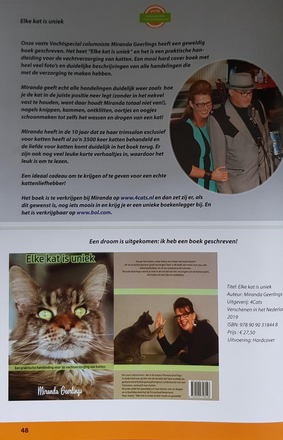 MIRANDA GEERLINGS | elke kat is uniek