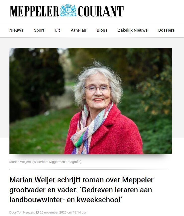 MARIAN WEIJER | Mannenmoed