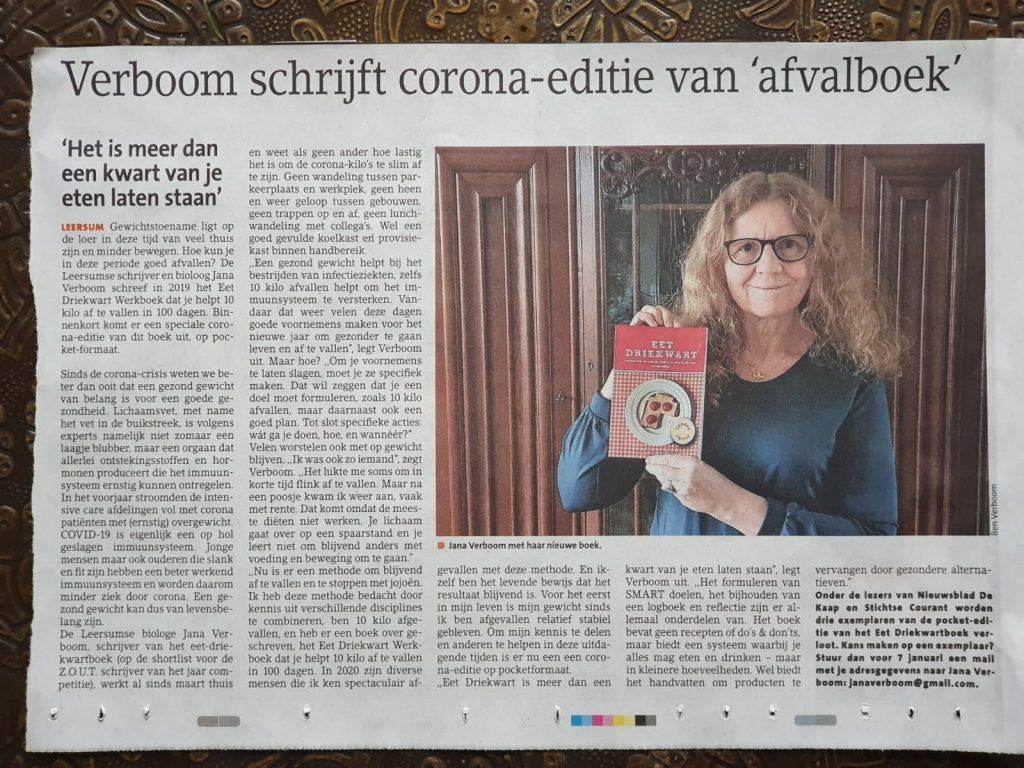 JANA VERBOOM | Eet Driekwart