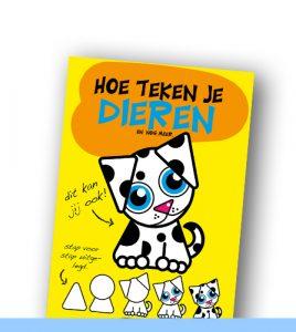 HOE TEKEN JE DIEREN | Eenvoudige dieren tekenen voor kinderen.