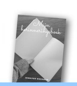 JENNIFER WEERMAN | Mijn herinneringsboek